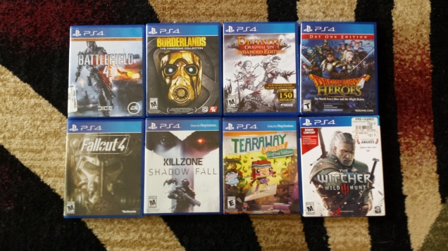 8 PS4 Games